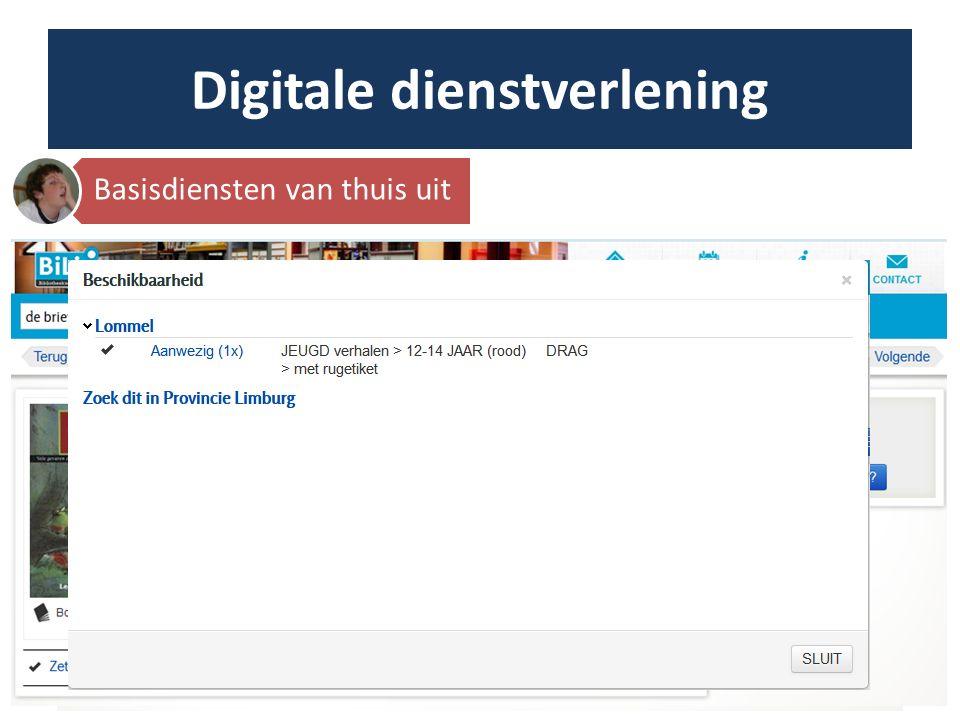 Digitale dienstverlening Zichtbaar op het net