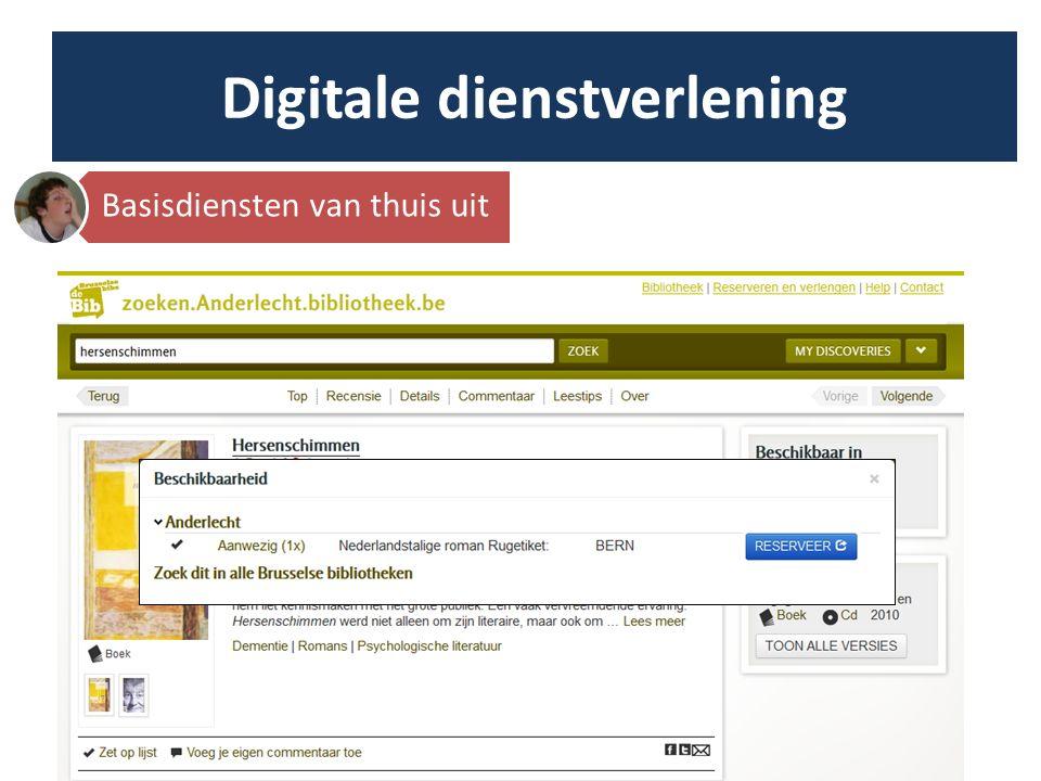 Ondersteuning door Lokale Digiscan Margot (Bibliotheek Niel): Bibnet hamerde op een brede samenstelling van de digiscan workshops.