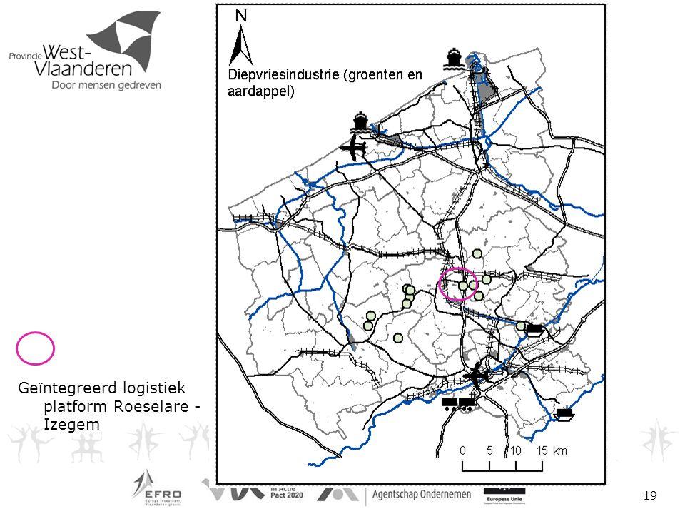 19 Geïntegreerd logistiek platform Roeselare - Izegem