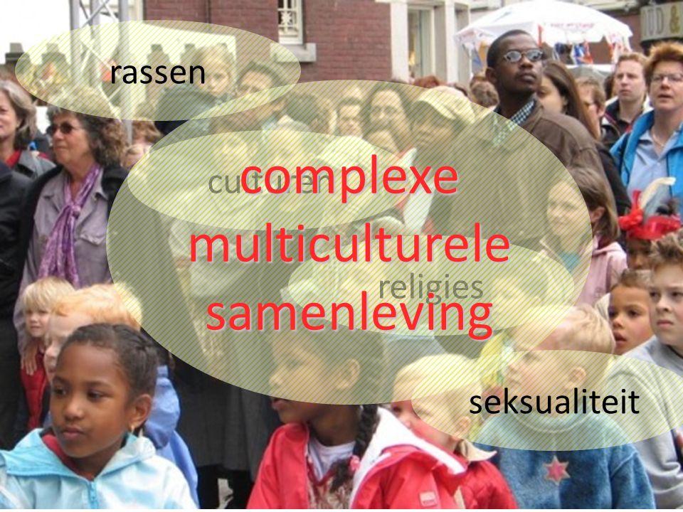 2009-2010Demografie5 Æ rassen culturen seksualiteit religies complexemulticulturelesamenleving