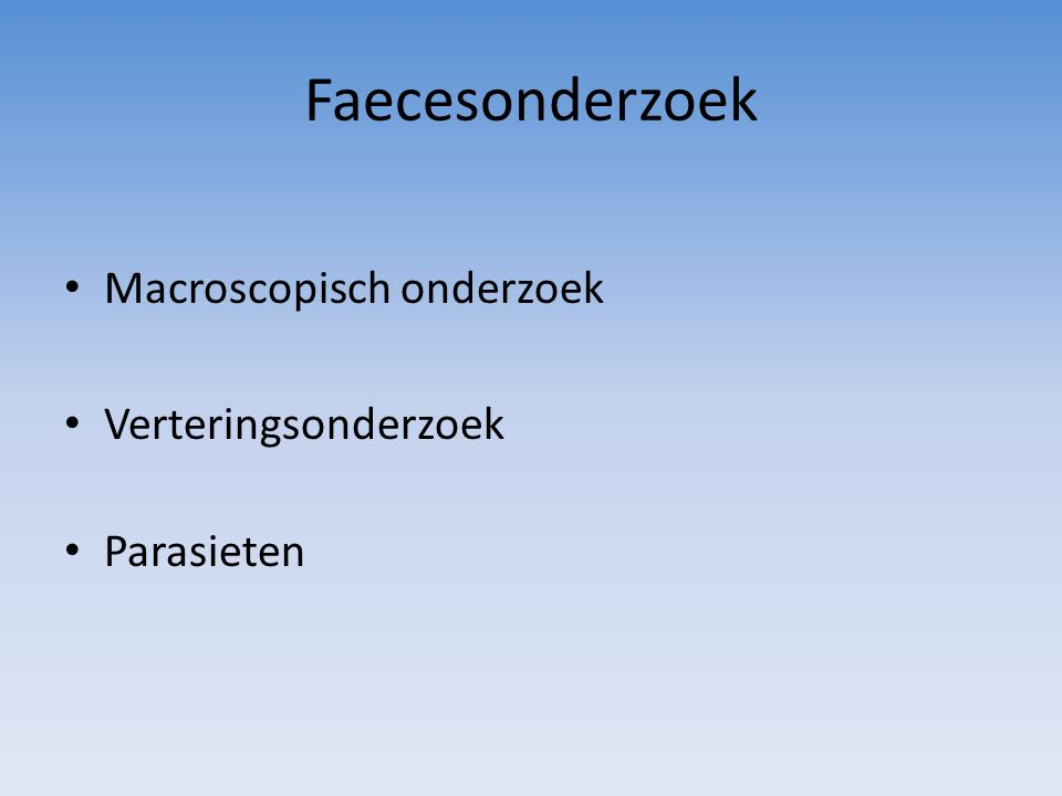 Coccidiose Diagnostiek Microscopisch ontlastingsonderzoek  oocysten