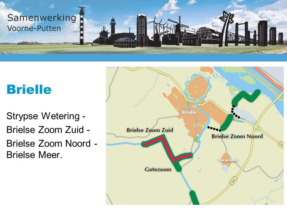 Brielle Strypse Wetering - Brielse Zoom Zuid - Brielse Zoom Noord - Brielse Meer.