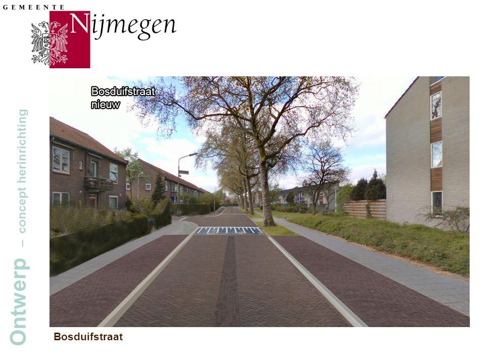 Gemeente Nijmegen Ontwerp – concept herinrichting Bosduifstraat