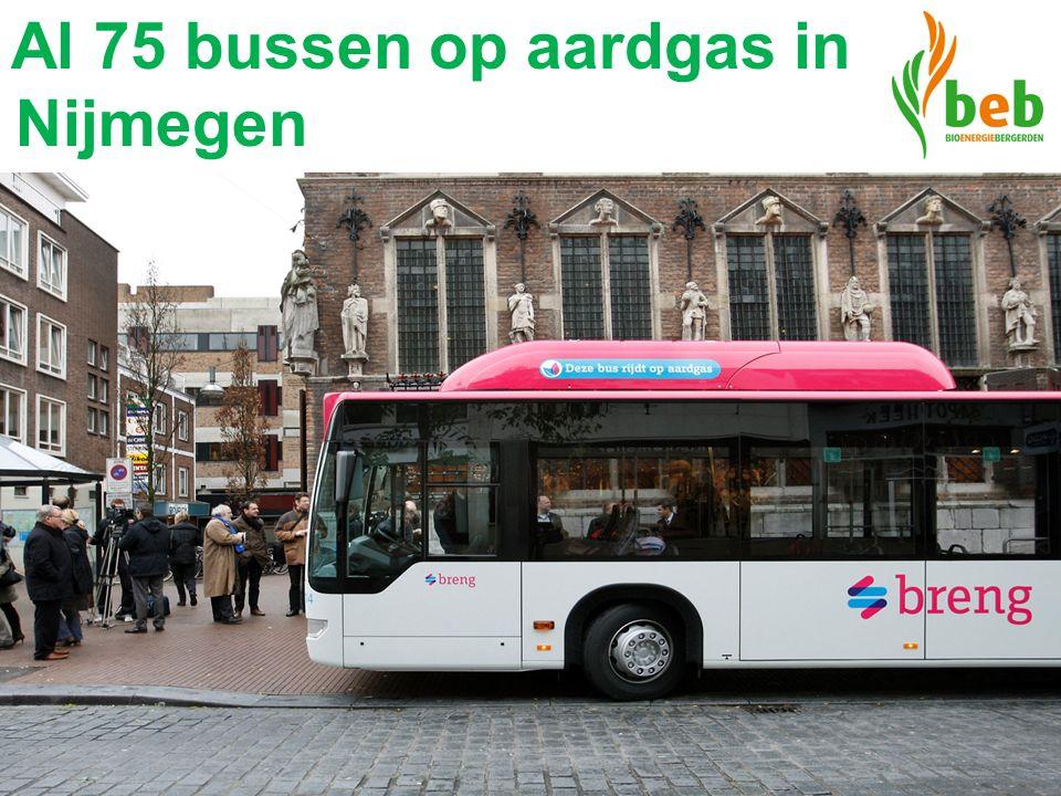 Al 75 bussen op aardgas in Nijmegen