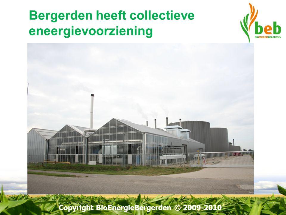 BEB zou biogas leveren aan HK2 op Bergerden voor biogas WKK: productie van groene stroom met MEP subsidie en gebruik van warmte door collectief van tuinders.