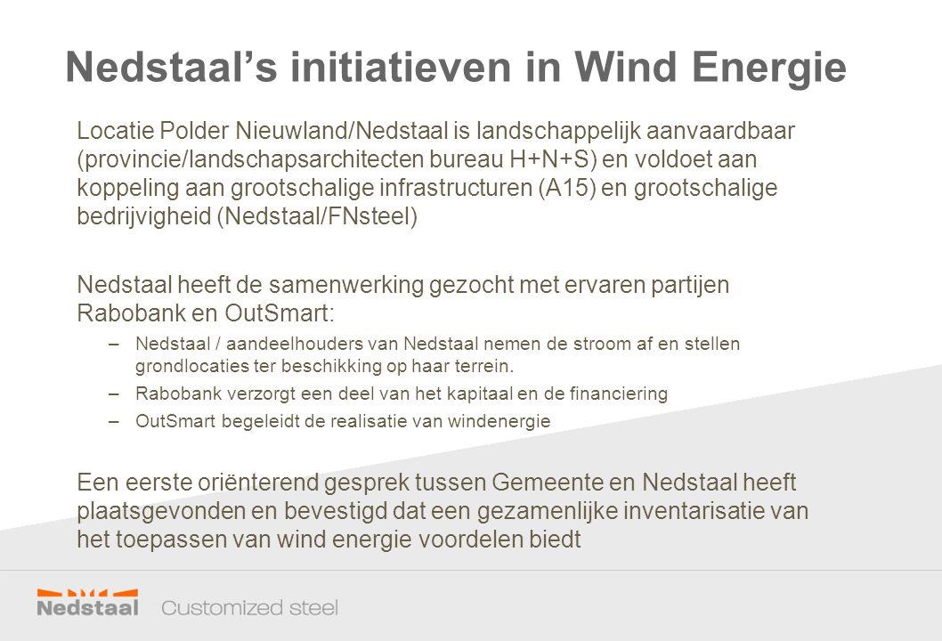 Locatie Polder Nieuwland/Nedstaal is landschappelijk aanvaardbaar (provincie/landschapsarchitecten bureau H+N+S) en voldoet aan koppeling aan grootsch
