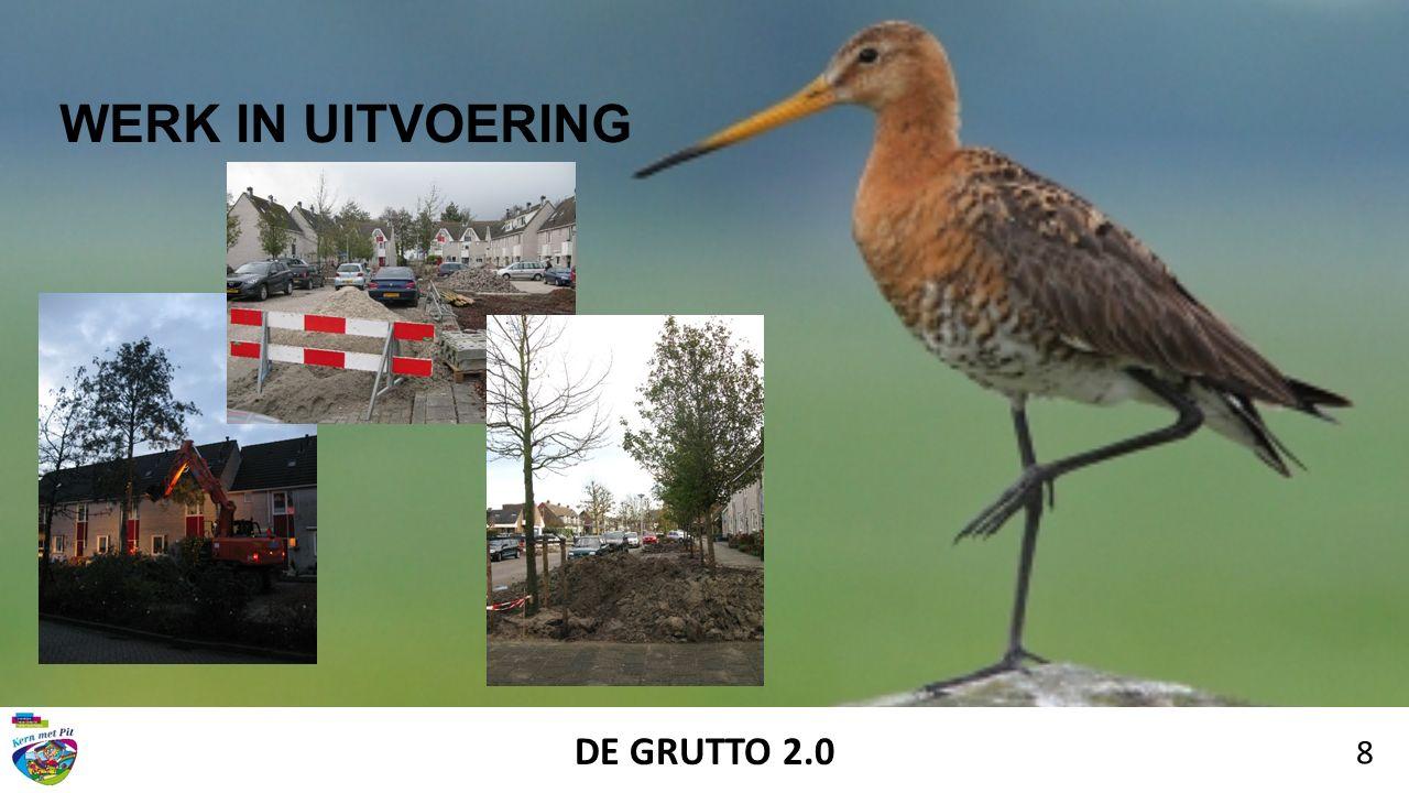 DE GRUTTO 2.0 8 WERK IN UITVOERING