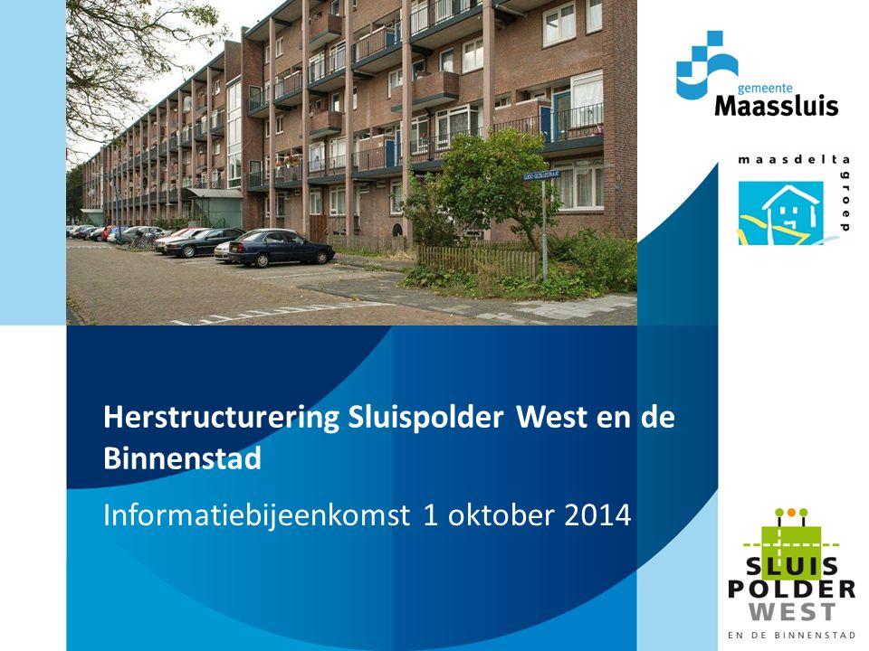 Herstructurering Sluispolder West en de Binnenstad Informatiebijeenkomst 1 oktober 2014