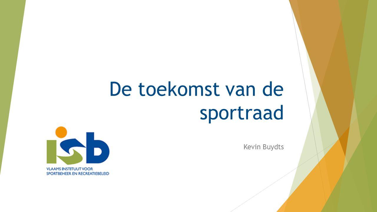 De toekomst van de sportraad Kevin Buydts