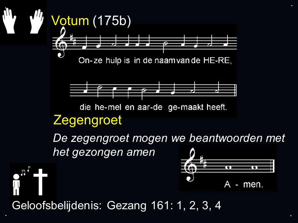 Gezang 161: 1, 2, 3, 4