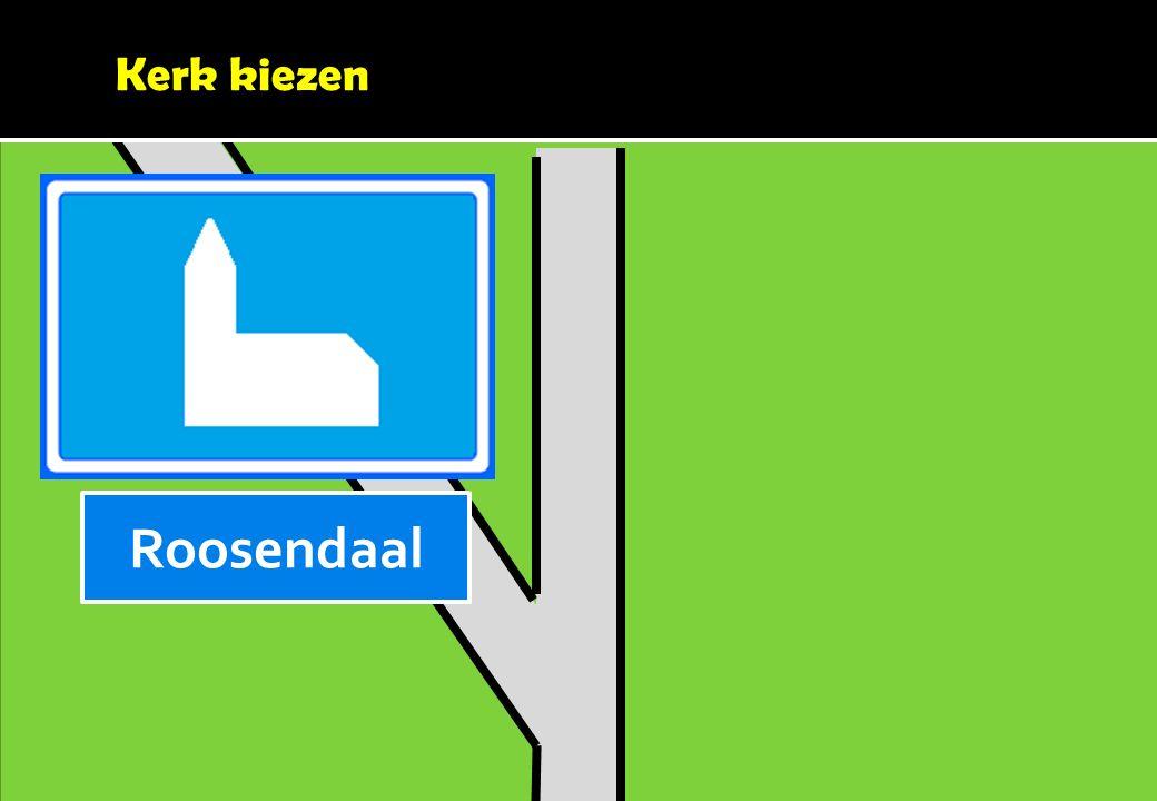 Kerk kiezen Roosendaal