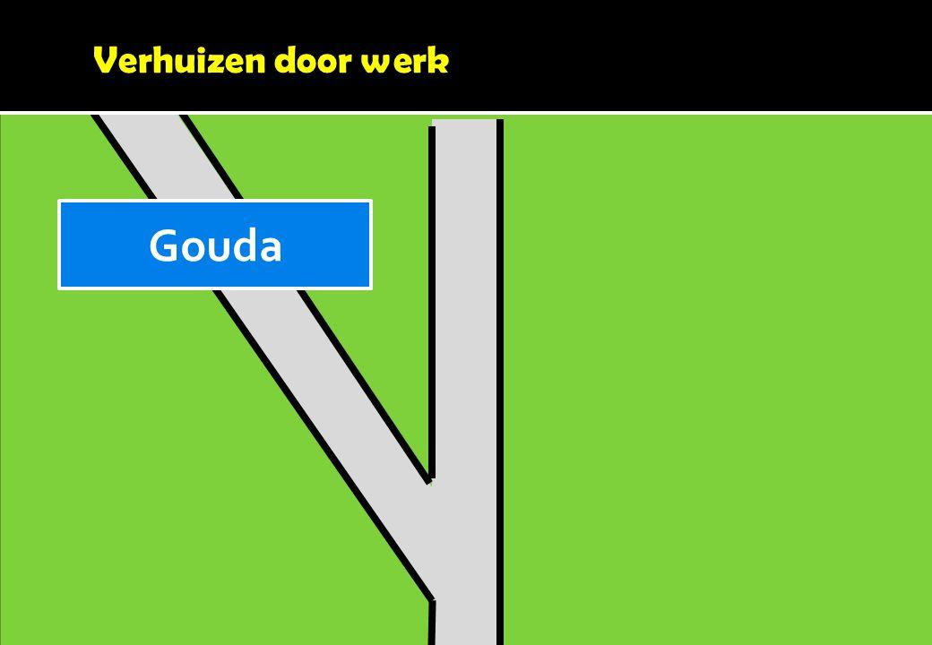 Verhuizen door werk Gouda