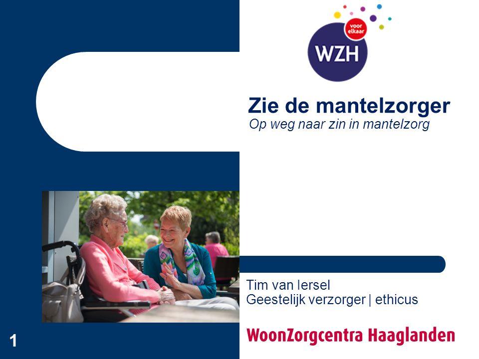 2 Opzet Doel - Bewustworden van zingeving in mantelzorg - Handvat om mantelzorgers te ondersteunen Opzet - Zingeving in de mantelzorg - Gespreksgroep 'Zin in mantelzorg' (WZH)
