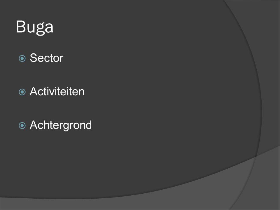Buga  Sector  Activiteiten  Achtergrond