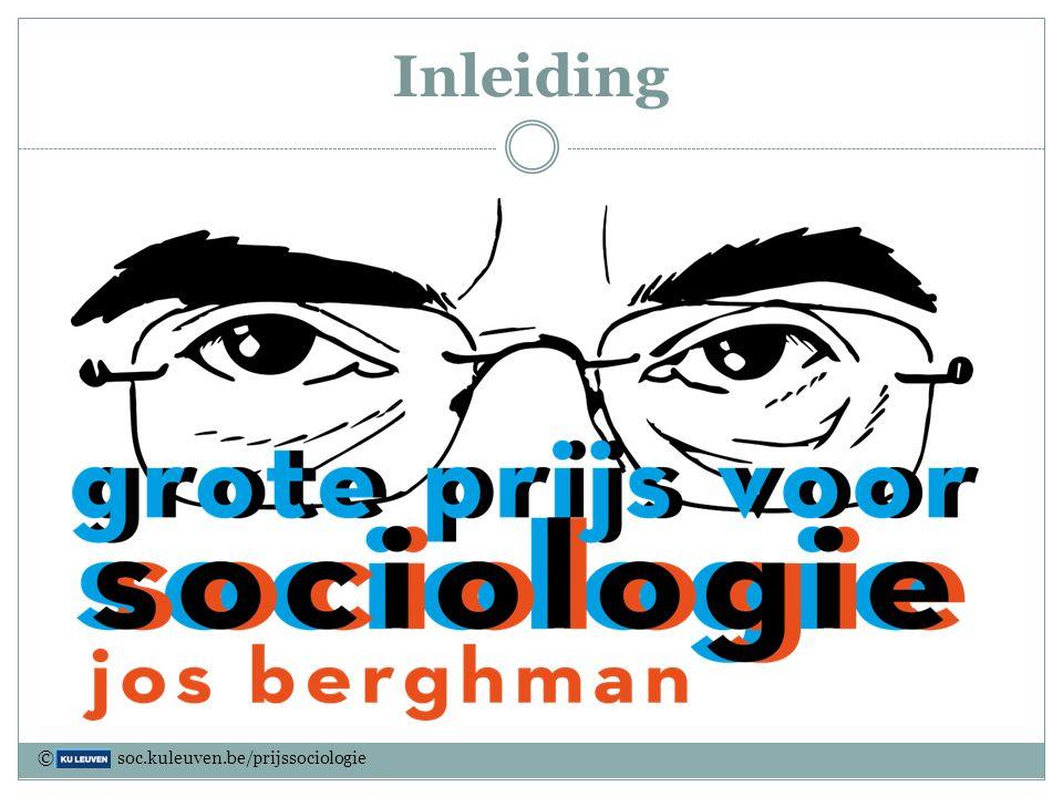 Inleiding © soc.kuleuven.be/prijssociologie