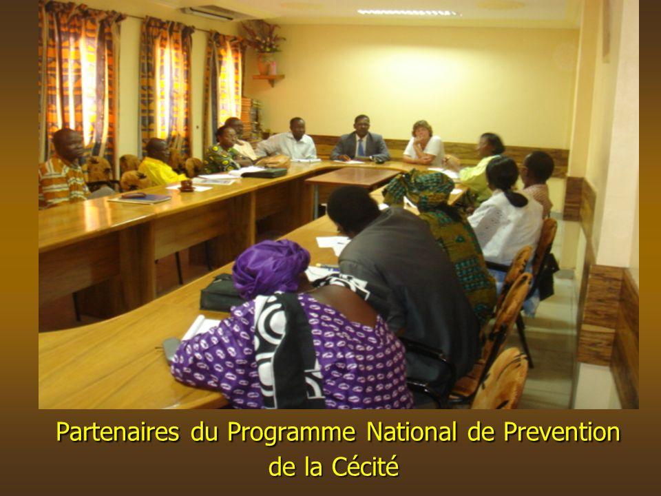 Partenaires du Programme National de Prevention de la Cécité