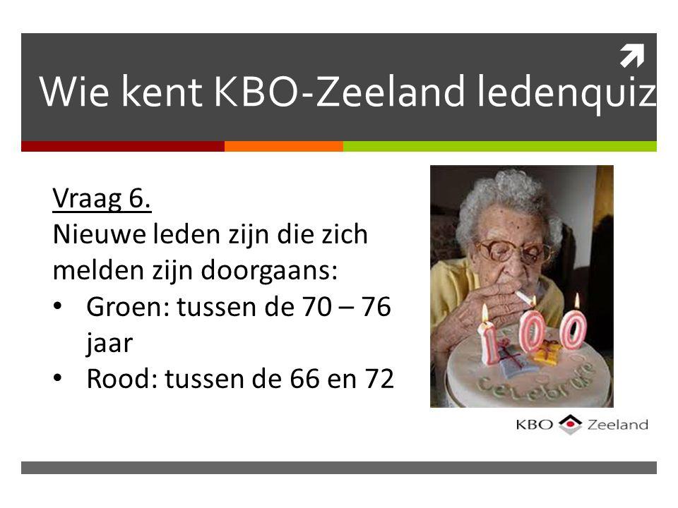  Wie kent KBO-Zeeland ledenquiz Vraag 6.