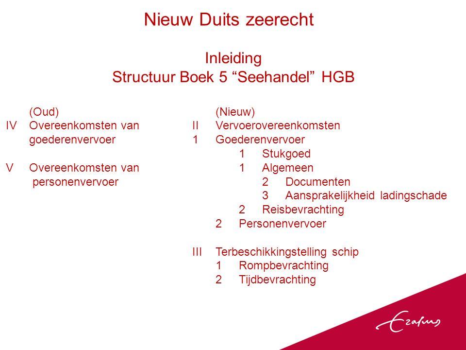 Ambivalentie Voorbeelden Regeling beschikkingsrecht (right of control) §491, §492 §520 HGB) onder vervoerovereenkomst: Gebaseerd op algemene deel Duits vervoerrecht (§ 418 HGB), dat steunt op art.