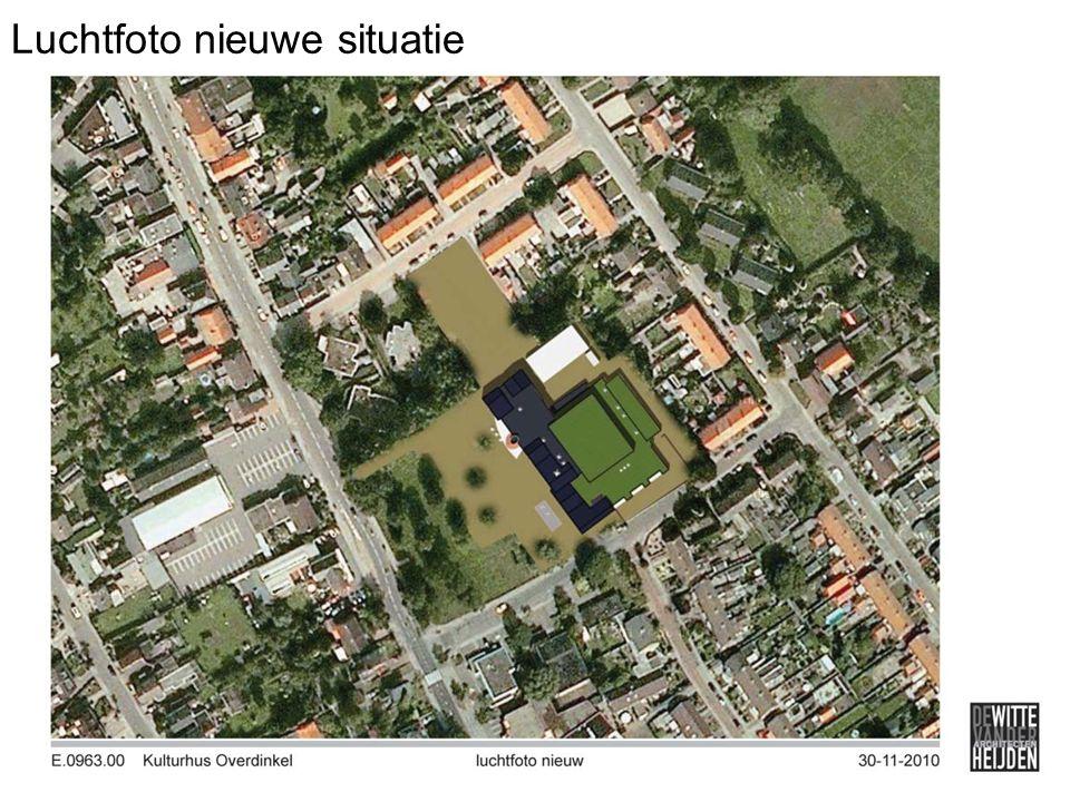 Luchtfoto nieuwe situatie