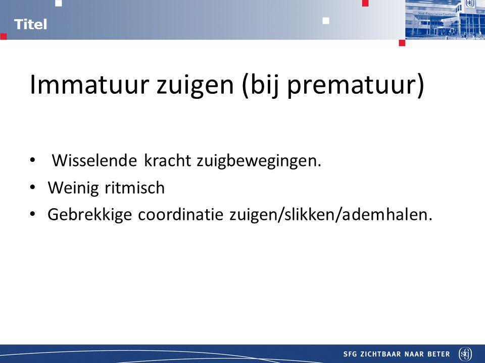 Titel Aanpak GORZ Nadelen indikken voedsel: Niet mogelijk bij borstvoeding.