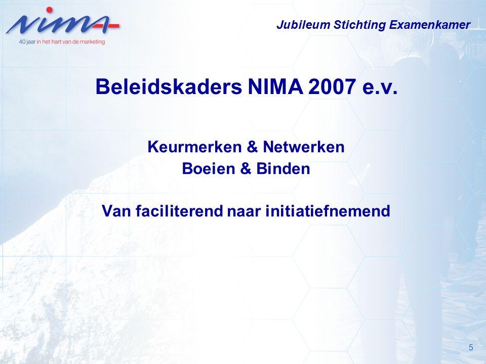 5 Beleidskaders NIMA 2007 e.v.