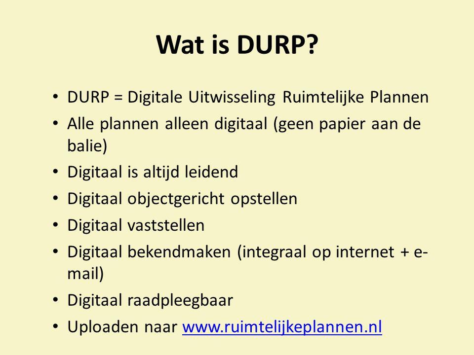 Wat is DURP.