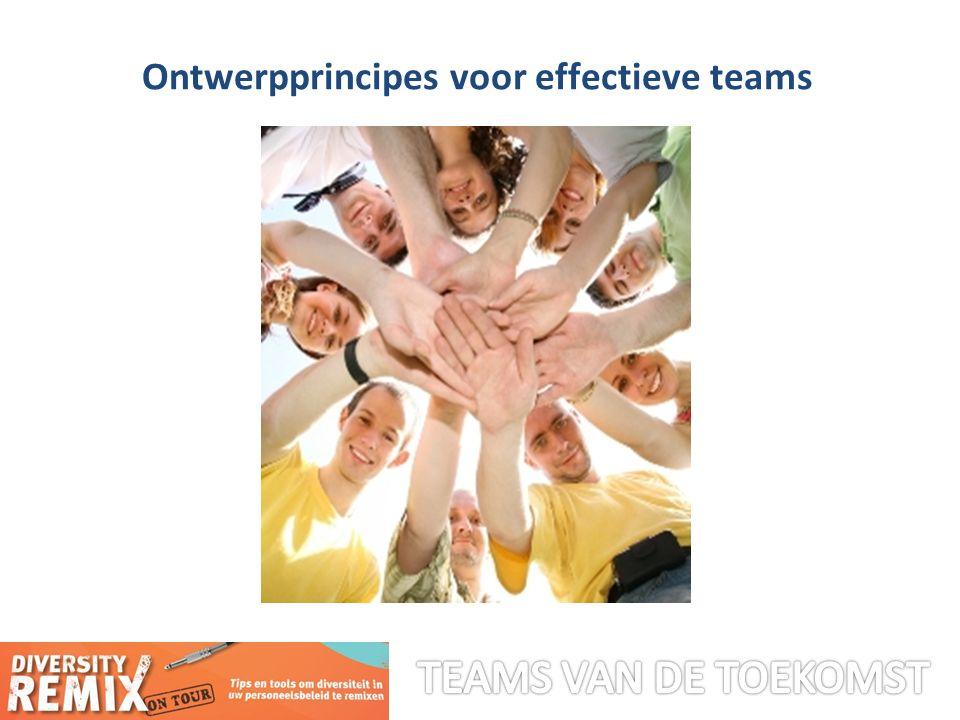 Ontwerpprincipes voor effectieve teams