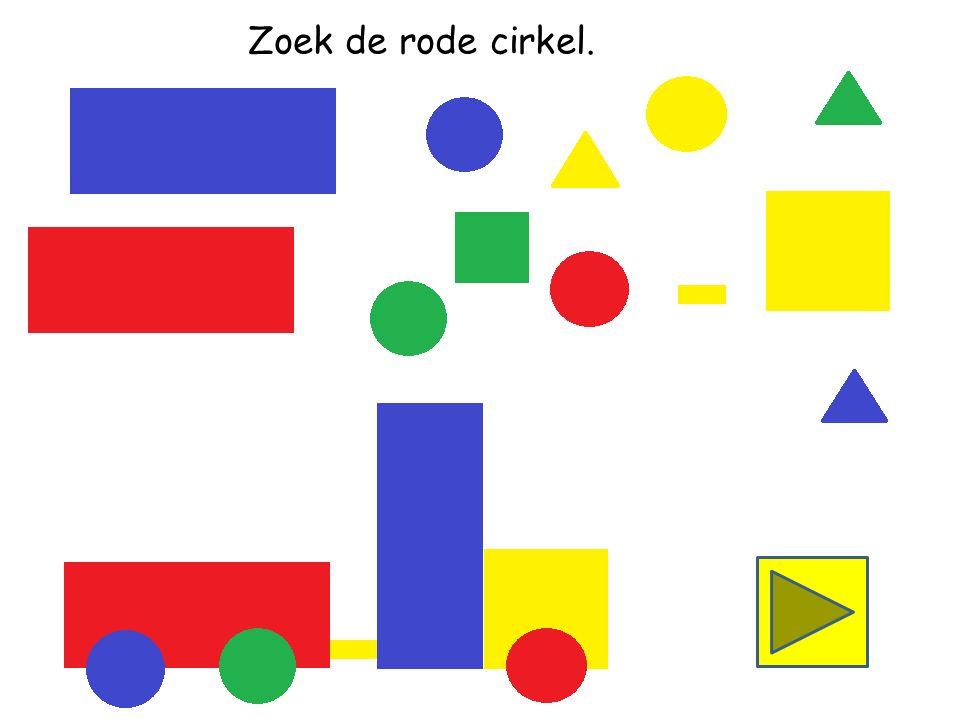 Zoek het gele vierkant.