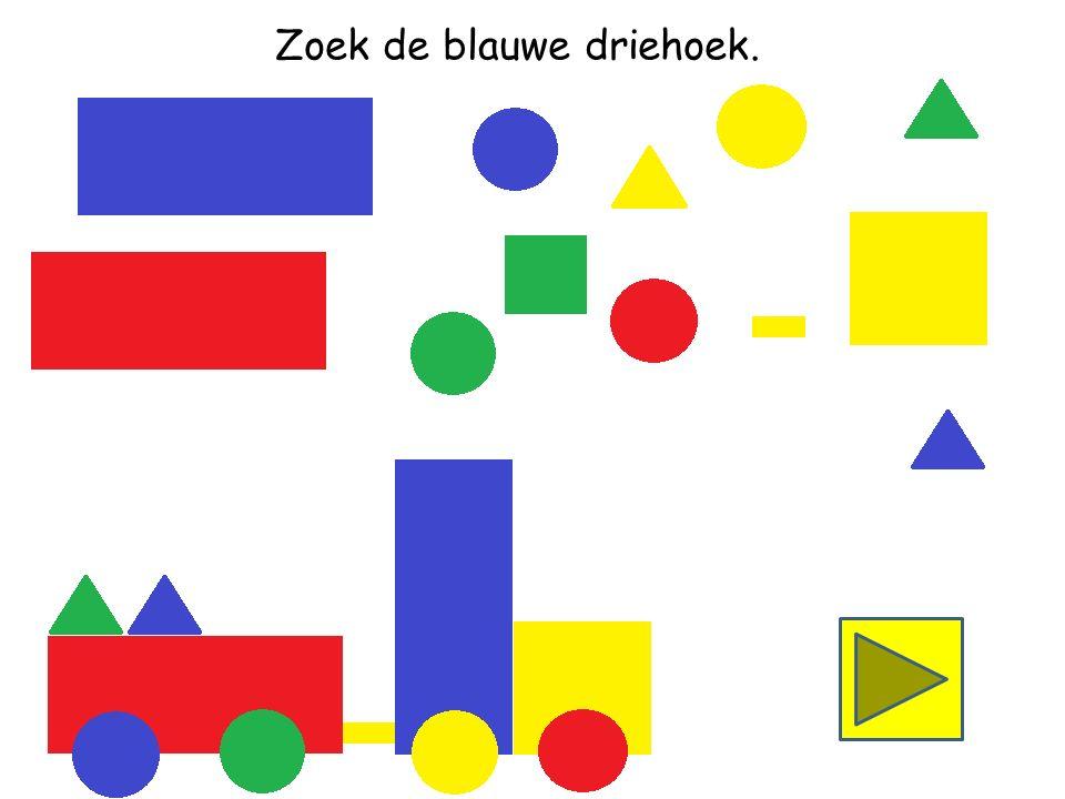 Zoek de groene driehoek.