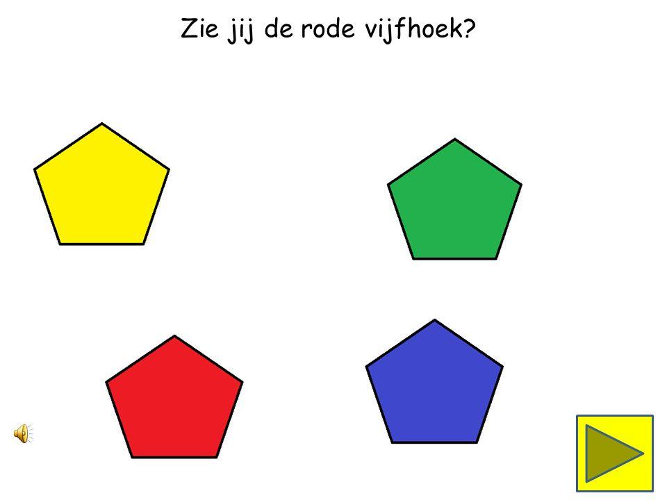 Zie jij de groene vijfhoek