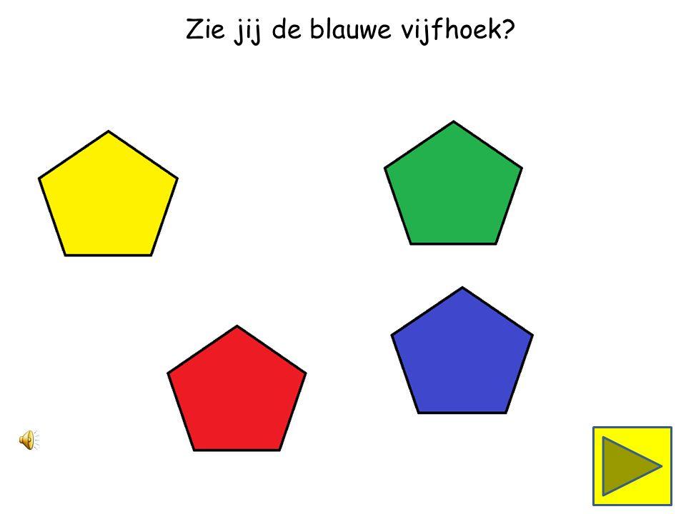 Zie jij de gele vijfhoek
