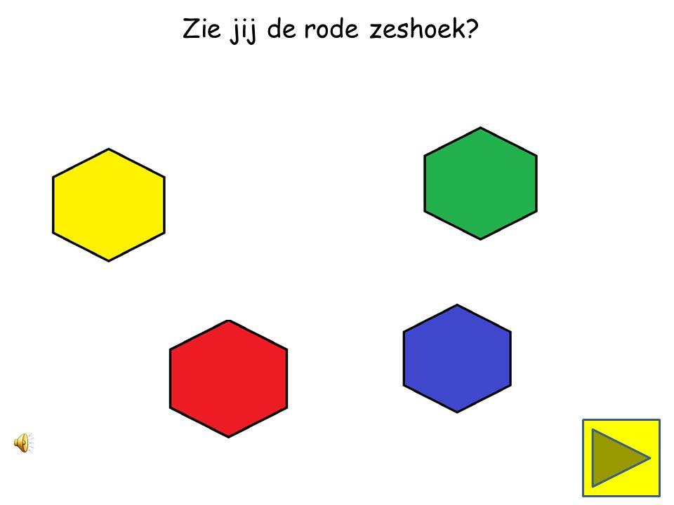 Zie jij de groene zeshoek