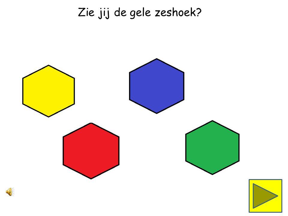 Zie jij de rode zeshoek
