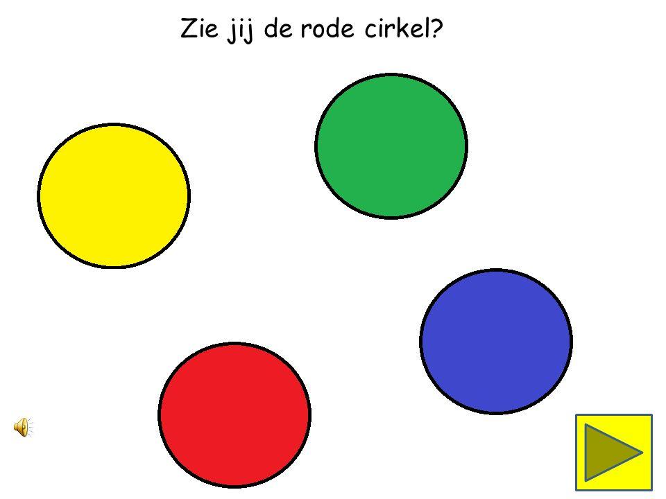 Zie jij de groene cirkel