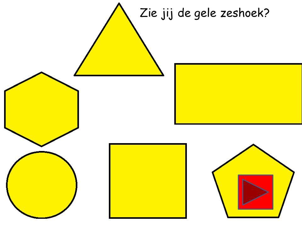 Zie jij de gele driehoek