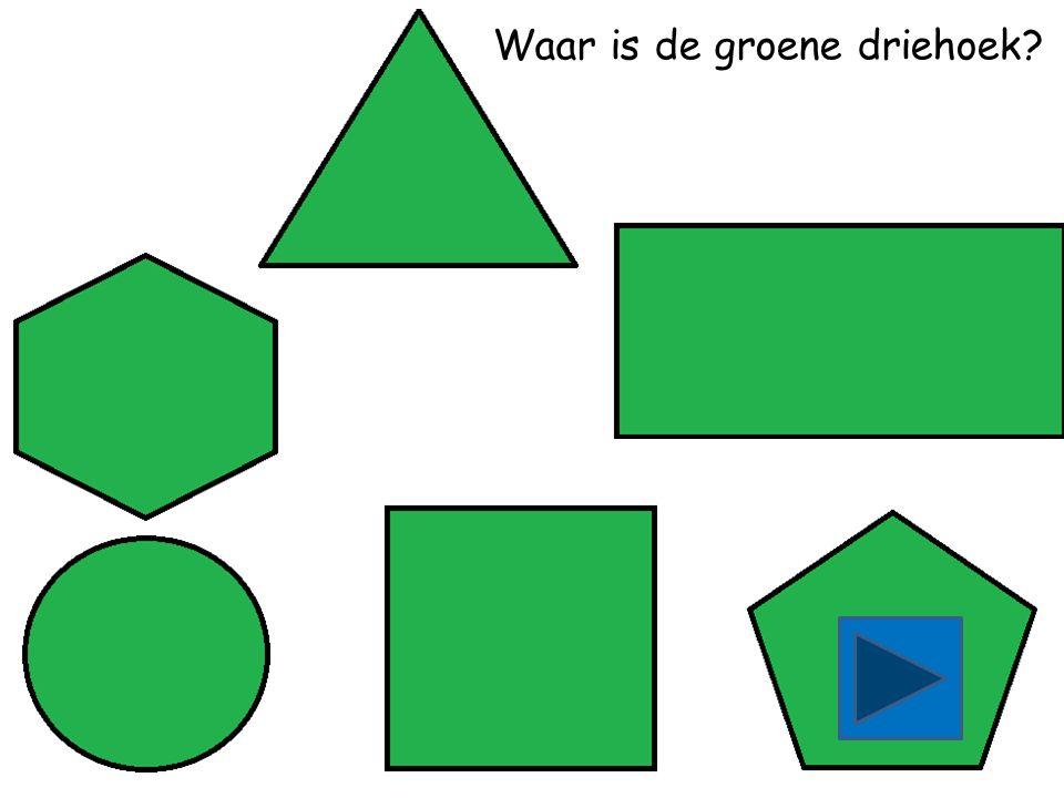 Waar is het groene vierkant
