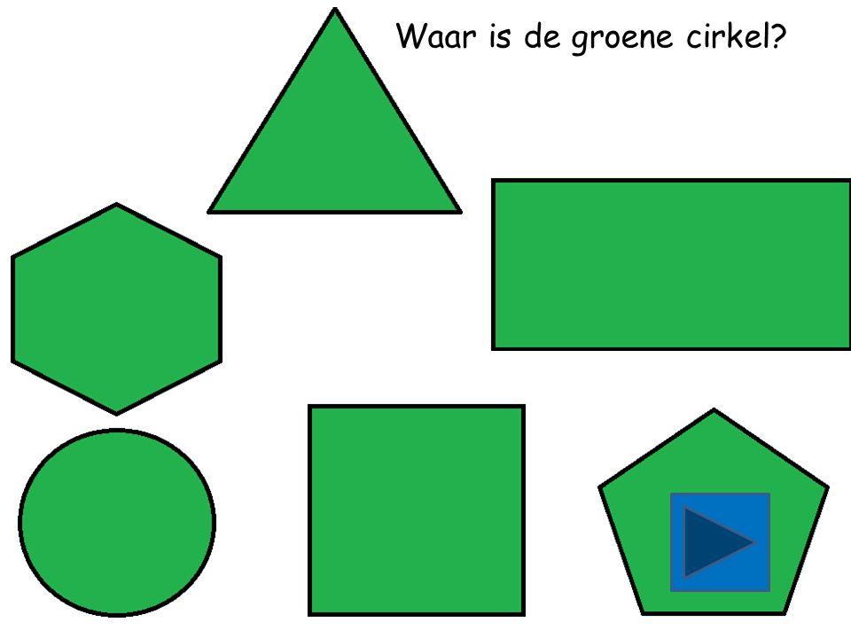 Waar is de groene rechthoek