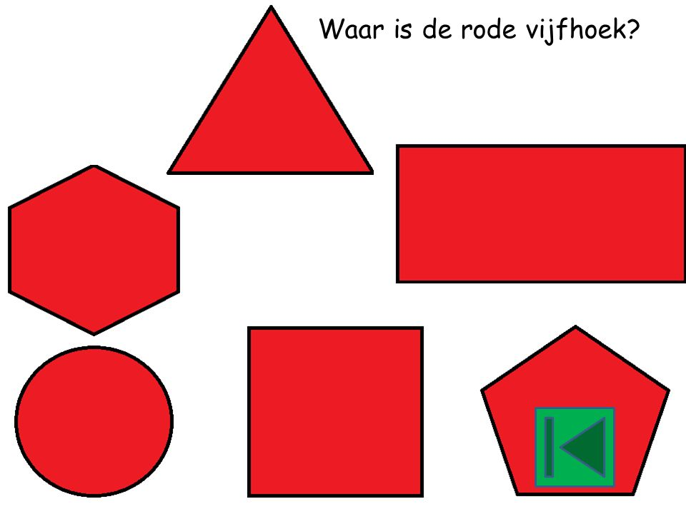 Waar is de rode cirkel