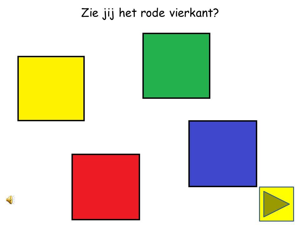 Zie jij het groene vierkant