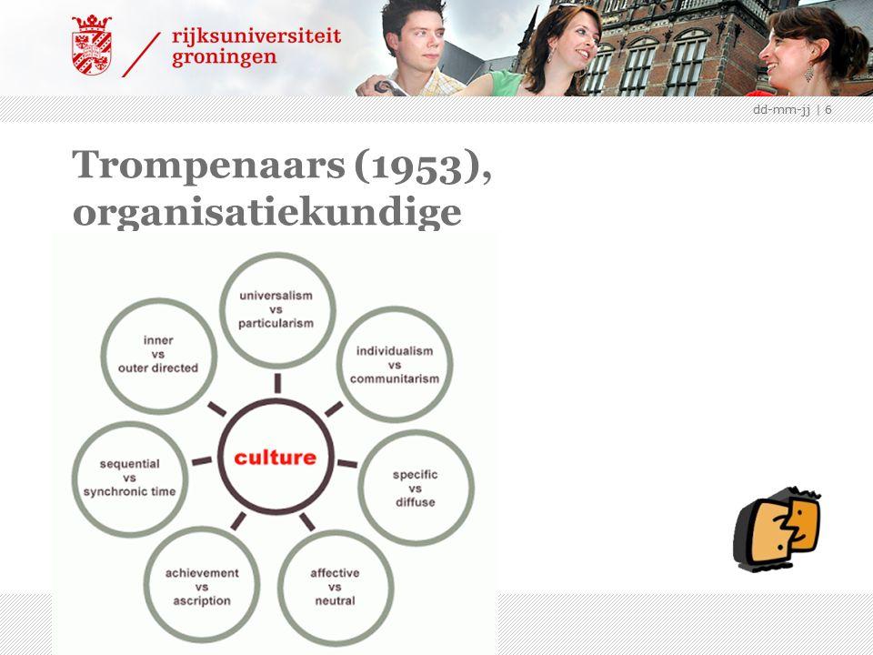 Trompenaars (1953), organisatiekundige dd-mm-jj | 6