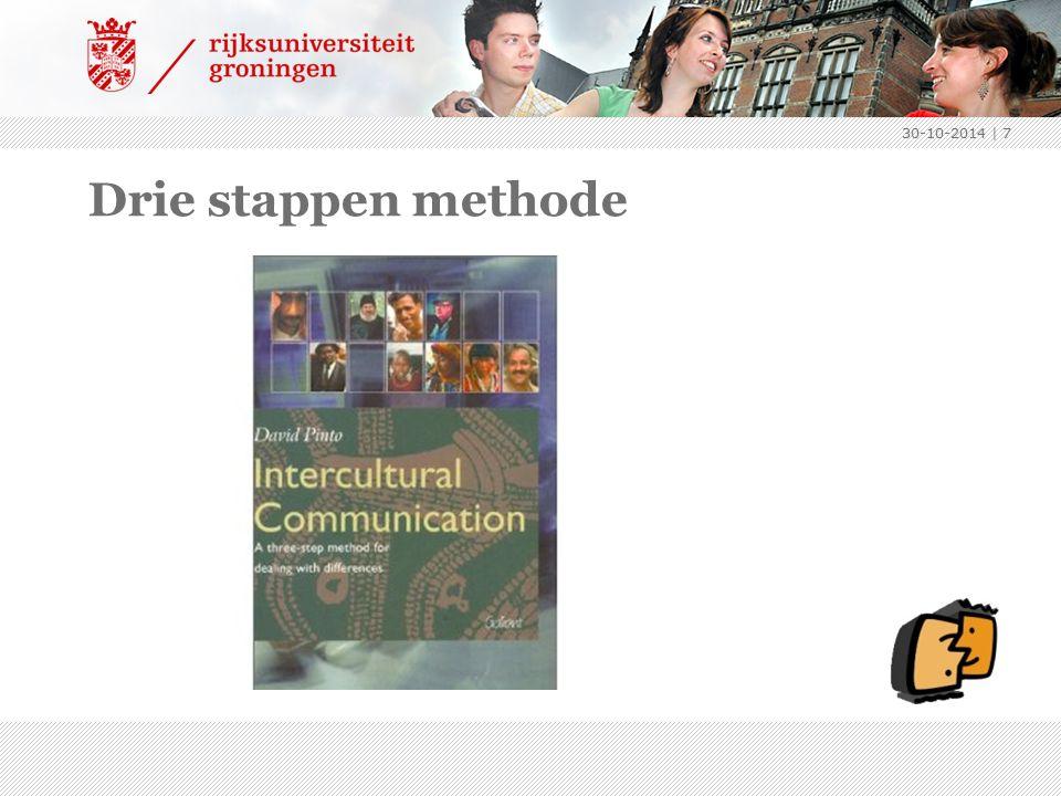 Drie stappen methode 30-10-2014 | 7