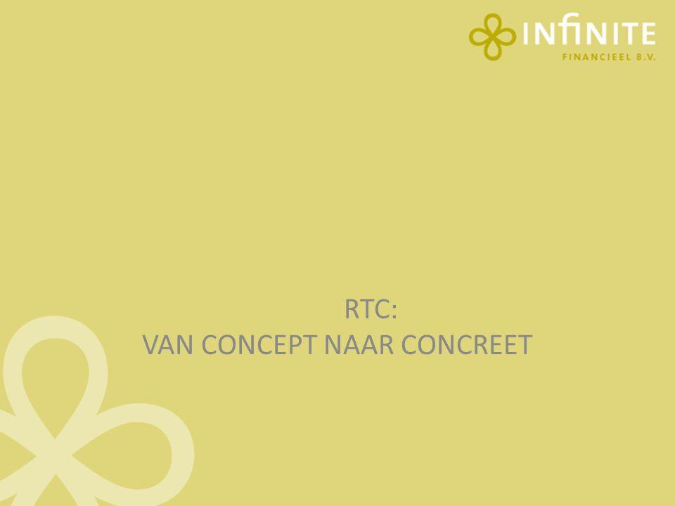 RTC: VAN CONCEPT NAAR CONCREET