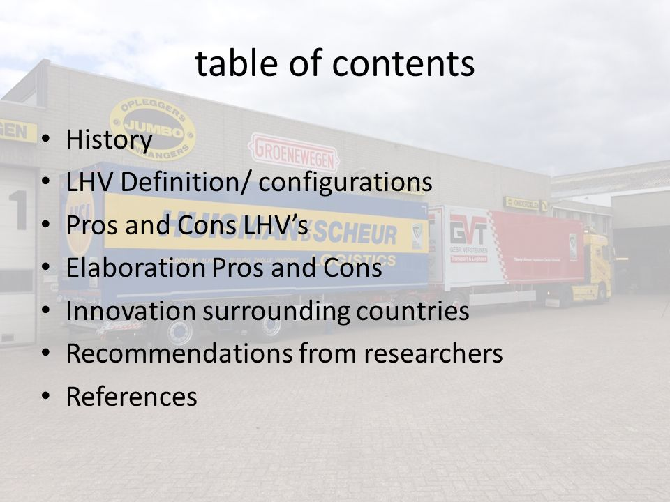 History a pilot scheme was introduced in the Netherlands in 2000 and ended in 2003.