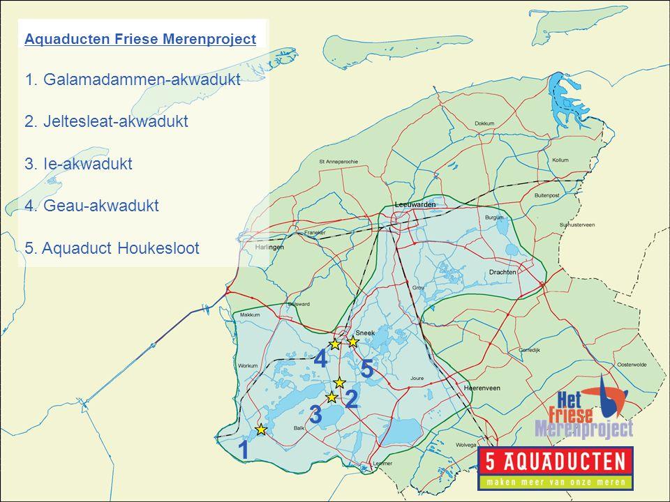 www.friesemeren.nl 1 3 2 4 5 Aquaducten Friese Merenproject 1.