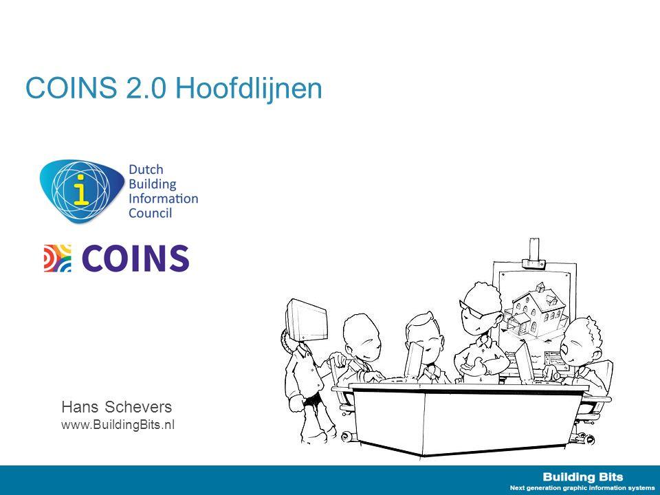 Kenmerkende modellering COINS 2.0 'Properties' zijn geobjectificeerd –StringProperty,NumericalProperty, etc.