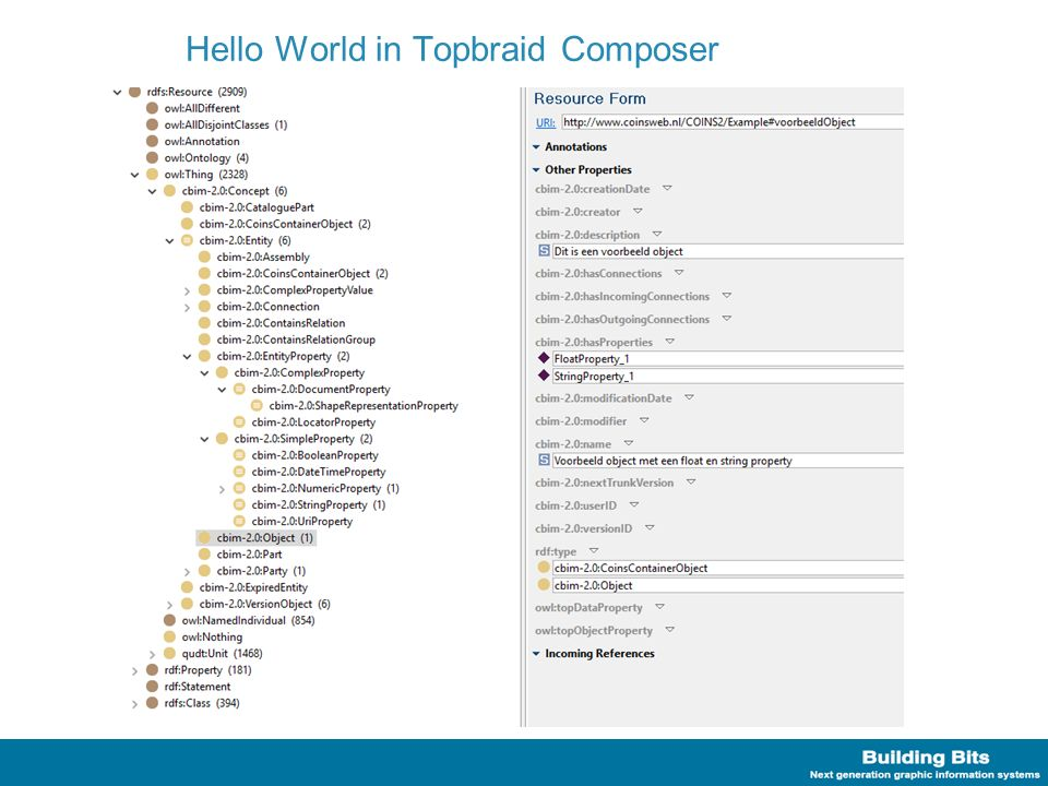 Hello World in Topbraid Composer