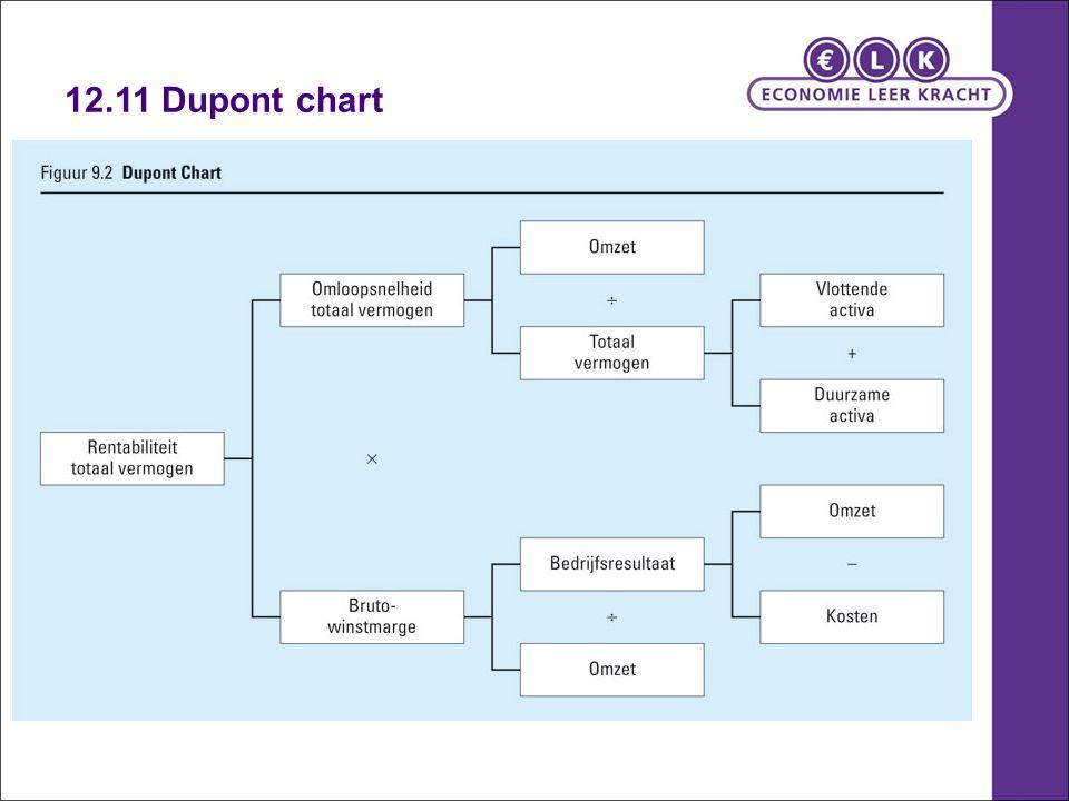 12.11 Dupont chart