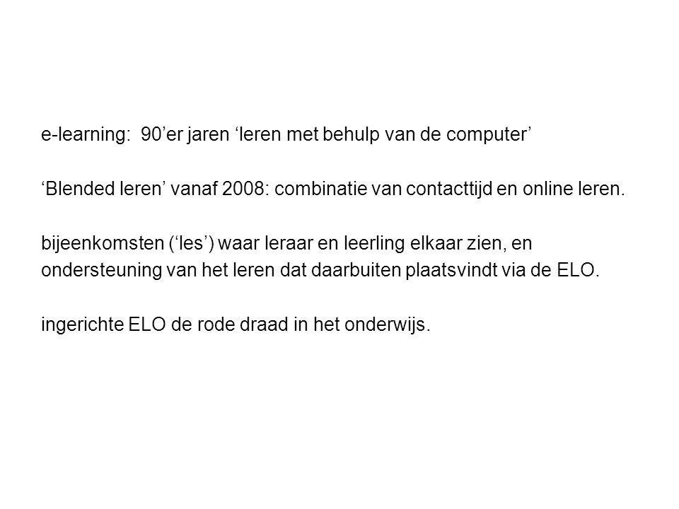 marktaandeel ELO's 2012