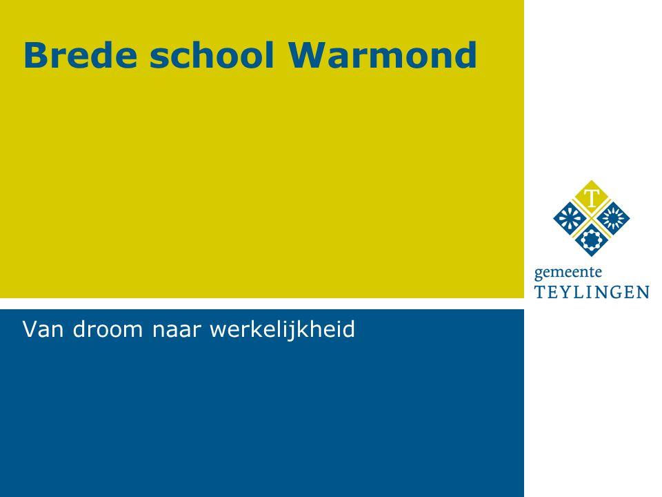 Brede school Warmond Van droom naar werkelijkheid