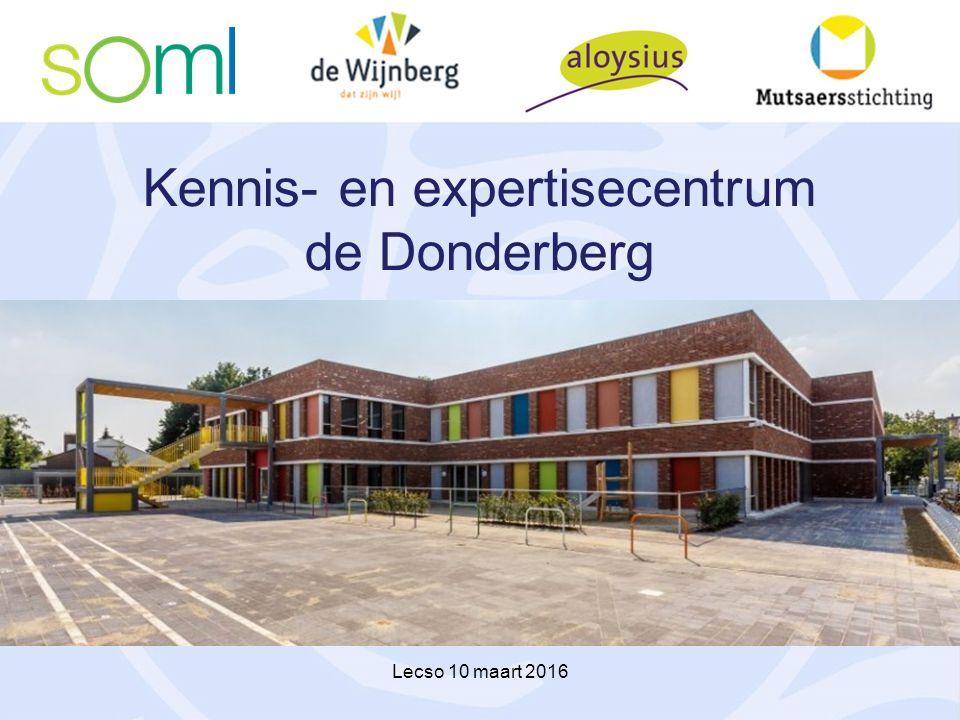 Kennis- en expertisecentrum de Donderberg Lecso 10 maart 2016
